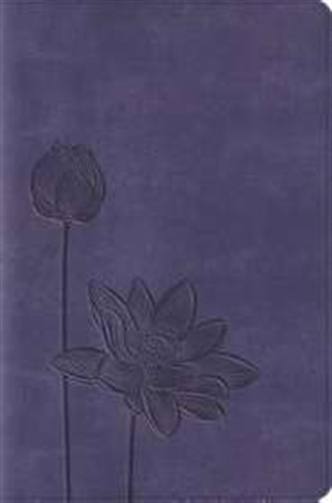 ESV Compact Bible Lavender Bloom Trutone
